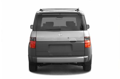 Rear Profile  2003 Honda Element