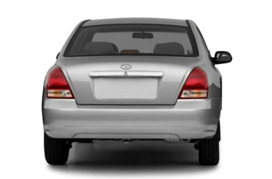 Rear Profile  2003 Hyundai Elantra