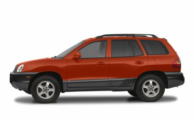 90 Degree Profile 2003 Hyundai Santa Fe