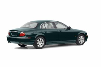 3/4 Rear Glamour  2003 Jaguar S-TYPE