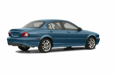 3/4 Rear Glamour  2003 Jaguar X-TYPE
