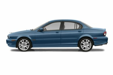 90 Degree Profile 2003 Jaguar X-TYPE