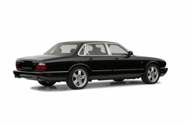 3/4 Rear Glamour  2003 Jaguar XJ