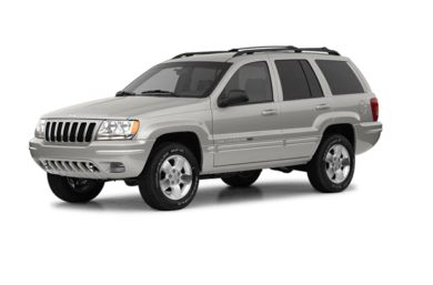 3/4 Front Glamour 2003 Jeep Grand Cherokee