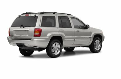 3/4 Rear Glamour  2003 Jeep Grand Cherokee