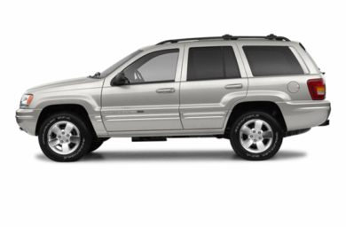 90 Degree Profile 2003 Jeep Grand Cherokee