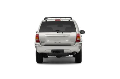Rear Profile  2003 Jeep Grand Cherokee