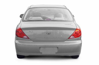 Rear Profile  2003 Kia Spectra