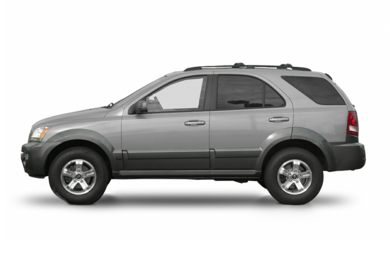 90 Degree Profile 2003 Kia Sorento