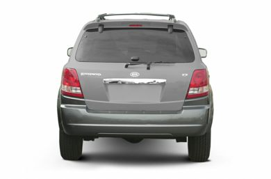 Rear Profile  2003 Kia Sorento