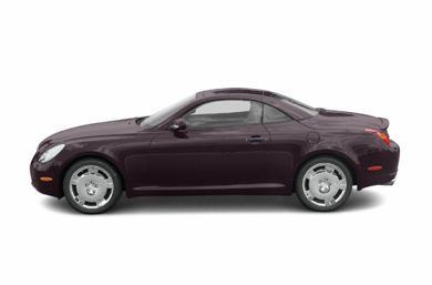 90 Degree Profile 2003 Lexus SC 430