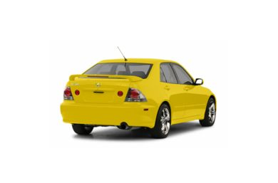 3/4 Rear Glamour  2003 Lexus IS 300