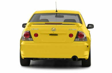 Rear Profile  2003 Lexus IS 300