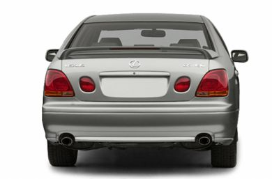Rear Profile  2003 Lexus GS 300