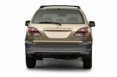 Rear Profile  2003 Lexus RX 300