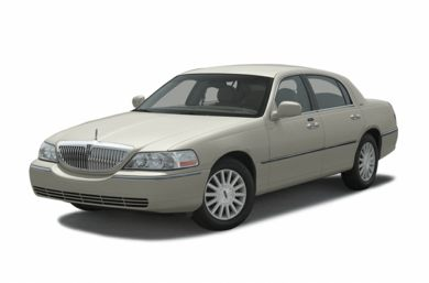 3/4 Front Glamour 2003 Lincoln Town Car
