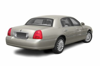 3/4 Rear Glamour  2003 Lincoln Town Car