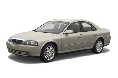 3/4 Front Glamour 2003 Lincoln LS