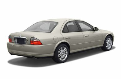 3/4 Rear Glamour  2003 Lincoln LS