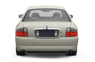 Rear Profile  2003 Lincoln LS