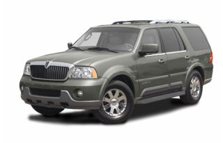 3/4 Front Glamour 2003 Lincoln Navigator
