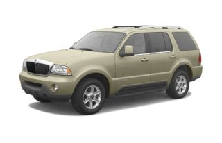 3/4 Front Glamour 2003 Lincoln Aviator