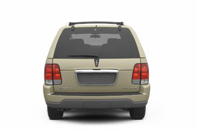 Rear Profile  2003 Lincoln Aviator