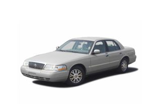 3/4 Front Glamour 2003 Mercury Grand Marquis