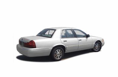 3/4 Rear Glamour  2003 Mercury Grand Marquis