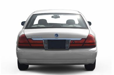 Rear Profile  2003 Mercury Grand Marquis