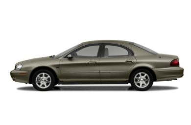 90 Degree Profile 2003 Mercury Sable