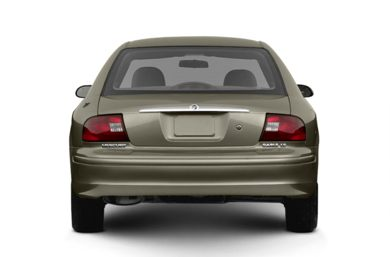 Rear Profile  2003 Mercury Sable