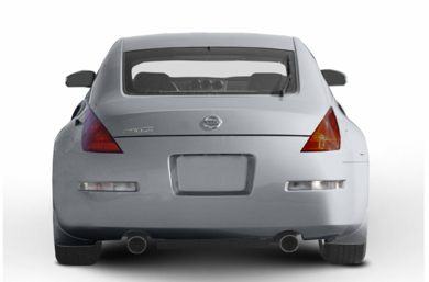 Rear Profile  2003 Nissan 350Z