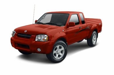 3/4 Front Glamour 2003 Nissan Frontier