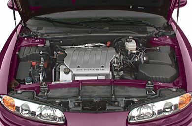 Engine Bay  2003 Oldsmobile Aurora