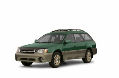 3/4 Front Glamour 2003 Subaru Outback