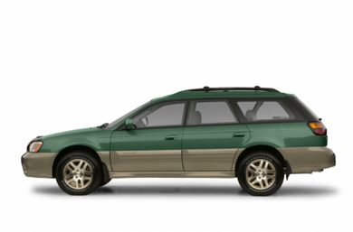 90 Degree Profile 2003 Subaru Outback