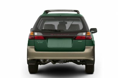 Rear Profile  2003 Subaru Outback