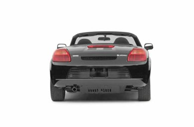 Rear Profile  2003 Toyota MR2 Spyder