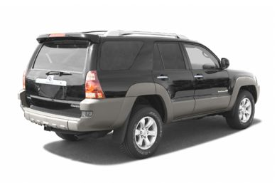 3/4 Rear Glamour  2003 Toyota 4Runner