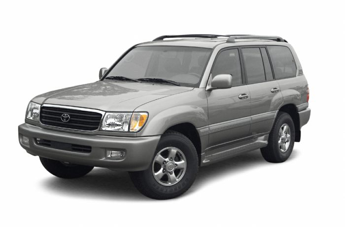 2003 toyota land cruiser specs safety rating mpg. Black Bedroom Furniture Sets. Home Design Ideas