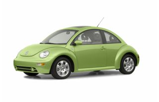 3/4 Front Glamour 2003 Volkswagen New Beetle