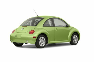 3/4 Rear Glamour  2003 Volkswagen New Beetle