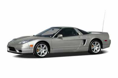 3/4 Front Glamour 2004 Acura NSX-T