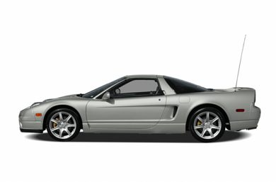 90 Degree Profile 2004 Acura NSX-T