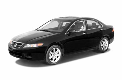 3/4 Front Glamour 2004 Acura TSX