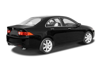3/4 Rear Glamour  2004 Acura TSX