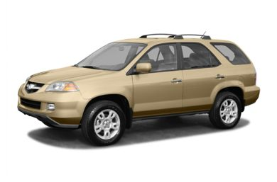 3/4 Front Glamour 2004 Acura MDX