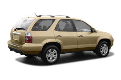 3/4 Rear Glamour  2004 Acura MDX