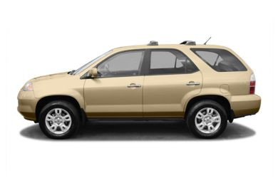 90 Degree Profile 2004 Acura MDX